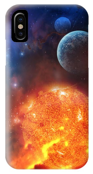 Moon iPhone Case - Creation by Philip Straub