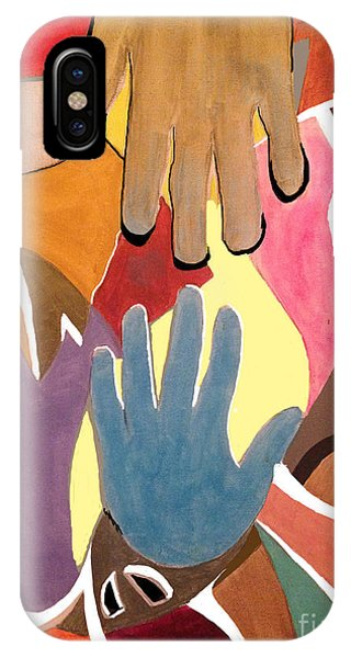 Creative Hands IPhone Case