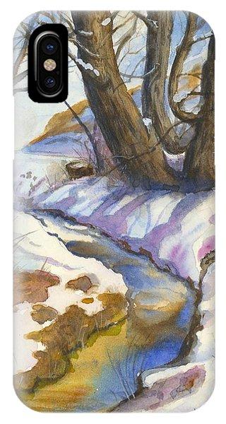 Creek At Bobcat Ridge IPhone Case