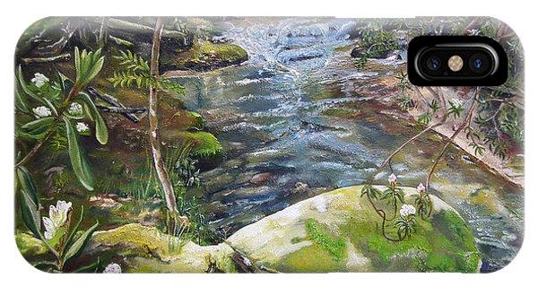 Creek -  Beyond The Rock - Mountaintown Creek  IPhone Case