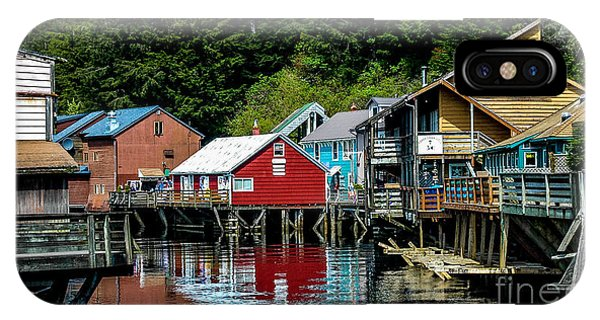 Creek Street - Ketchikan Alaska IPhone Case