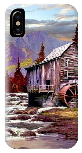 Creekside Mill IPhone Case