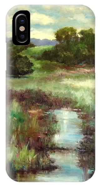 Creekside Morning IPhone Case