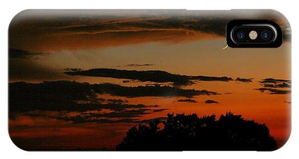 Crescent At Sunset IPhone Case