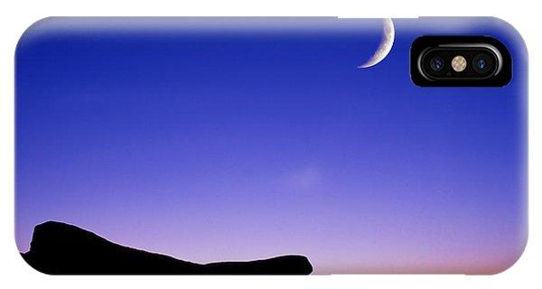 Crescent Moon Halibut Pt. IPhone Case