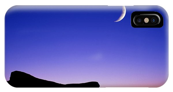 Crescent Moon Halibut Pt. IPhone Case