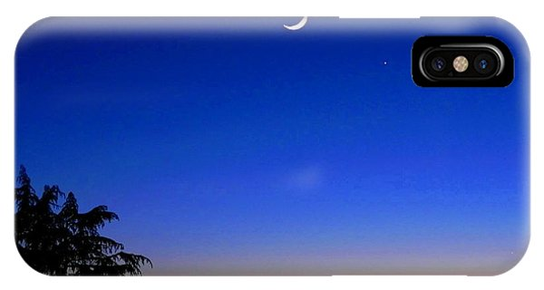 Crescent Moon San Francisco Bay IPhone Case