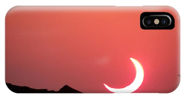Crescent Sunset IPhone Case