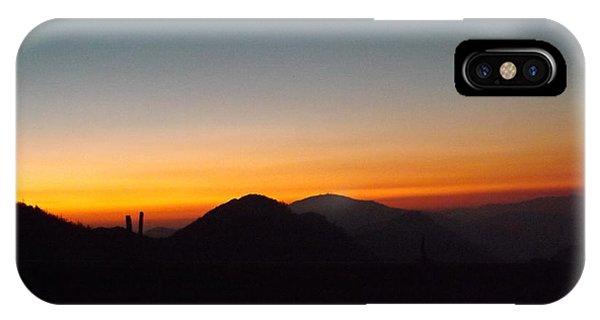 Crest Sunset IPhone Case
