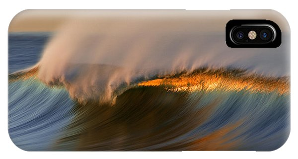 Cresting Wave Mg_0372 IPhone Case