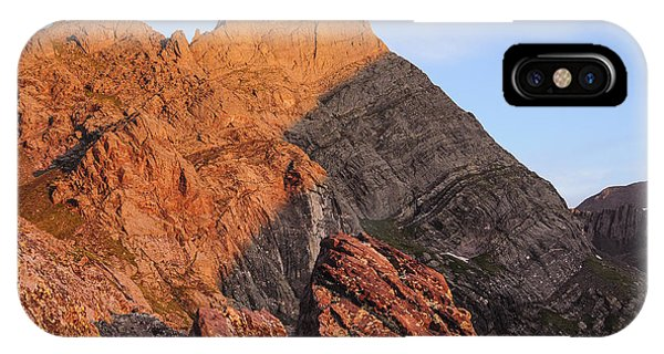 Sangre De Cristo iPhone Case - Crestone Needle Sunrise by Aaron Spong