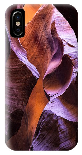 IPhone Case featuring the photograph Crevice by Brad Brizek