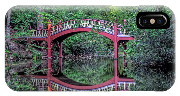 Crim Dell Bridge In Summer IPhone Case