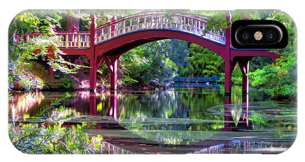 Crim Dell Bridge William And Mary College IPhone Case