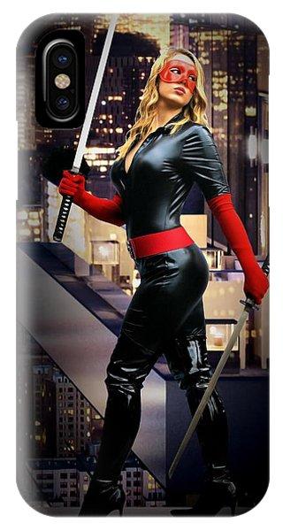 Crimson Avenger The Penthouse Watch IPhone Case