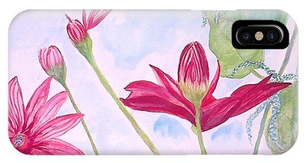 Crimson Garden IPhone Case