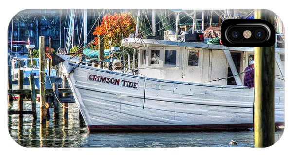 Crimson Tide In Harbor IPhone Case