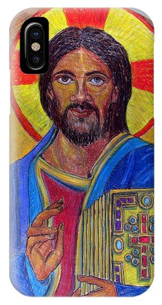 Cristo Pantocrator IPhone Case