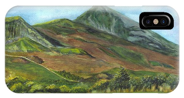 Croagh Saint Patricks Mountain In Ireland  IPhone Case