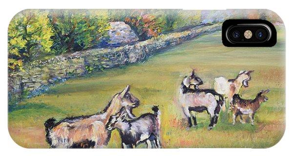 Croatian Goats IPhone Case