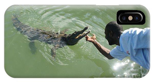 Crocodile Dundee Jamaica Phone Case by Olaf Christian