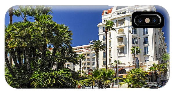 French Riviera iPhone Case - Croisette Promenade In Cannes by Elena Elisseeva