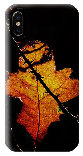 Cross And Thorns IPhone Case