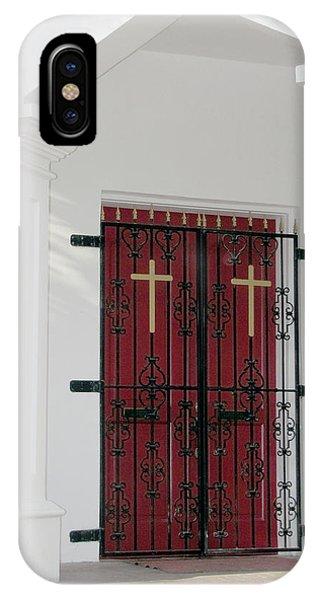 Key West Church Doors IPhone Case