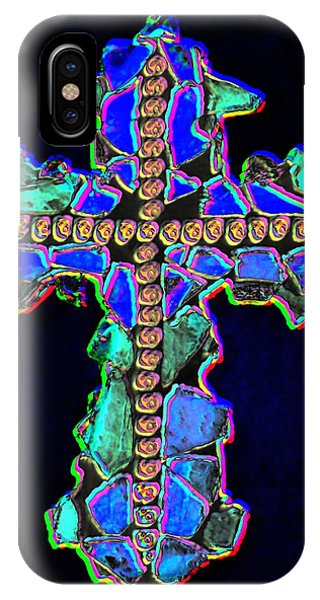 Cross Of Glass Light 2 Dark IPhone Case