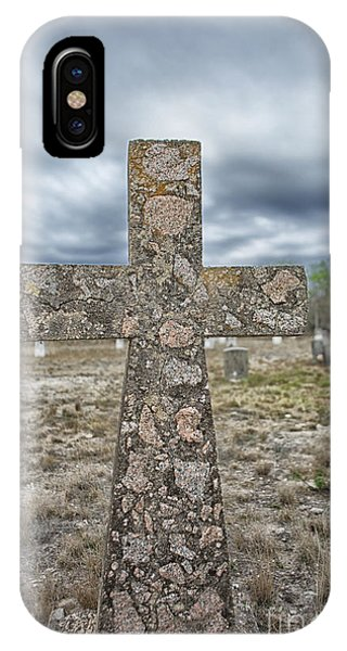Cross With No Name IPhone Case