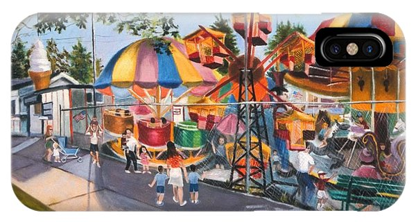 Crossbay Amusement Park IPhone Case