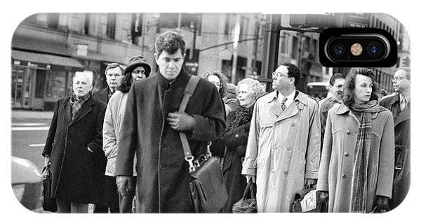 Crossing Manhattan IPhone Case
