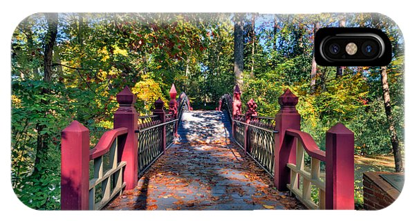 Crossing The Crim Dell Bridge IPhone Case