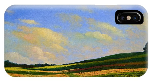 Crossing The Field IPhone Case