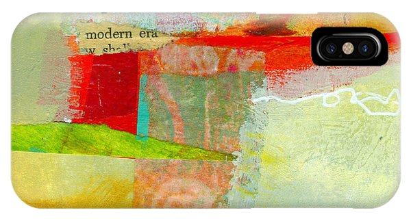 Abstract iPhone Case - Crossroads 55 by Jane Davies
