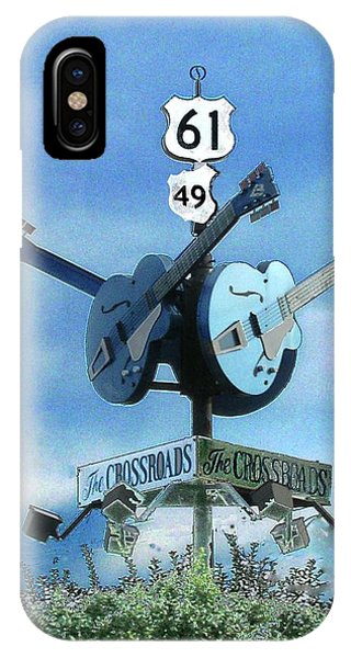 Crossroads In Clarksdale IPhone Case