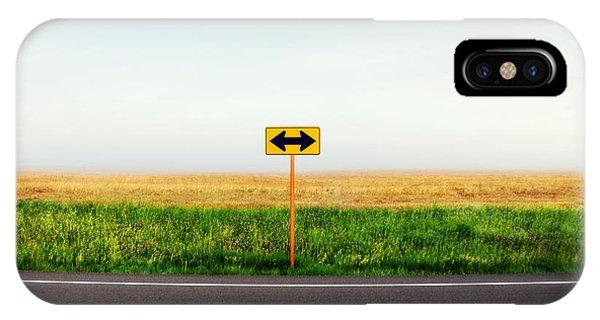 Road iPhone Case - Crossroads by Todd Klassy