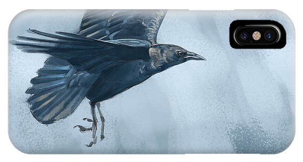 Crow IPhone Case