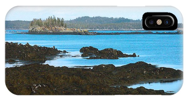 Crow Island Bay Of Fundy Nb IPhone Case