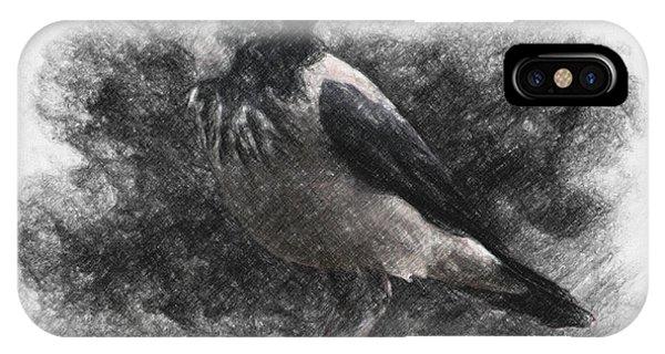 Raven iPhone Case - Crow by Zapista Zapista