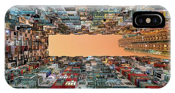 Hong Kong iPhone Case - Crowded Spaces by Gerald Macua