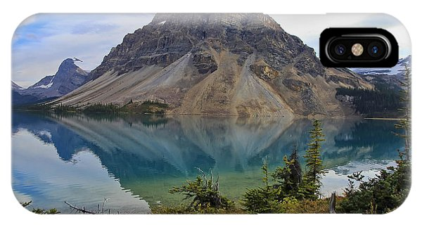 Crowfoot Mountain Banff Np IPhone Case