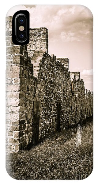 Revolutionary iPhone Case - Crown Point New York Old British Fort Ruin by Edward Fielding