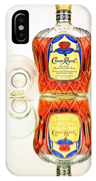 Crown Royal 3 IPhone Case