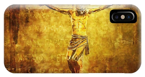 Crucified Via Dolorosa 12 IPhone Case