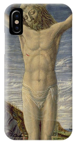 Crucifixion iPhone Case - Crucifixion  by Master of the Barberini Panels
