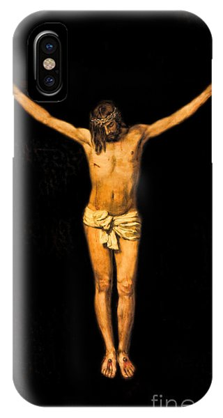 Crucifixion Of Jesus Christ Phone Case by Lee Dos Santos