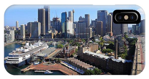 Cruiser Ship In Sydney IPhone Case