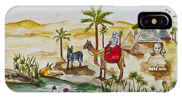 Cruising Along The Nile IPhone Case
