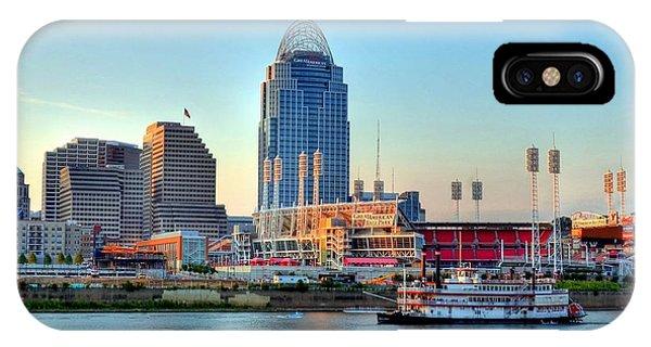 Cruising By Cincinnati IPhone Case